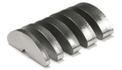 Abrasivschneiden für harte und dicke Werkstoffe wie Titan