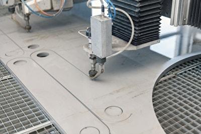 Wasserstrahlschneidanlagen zum automatisierten 2D-Schneiden