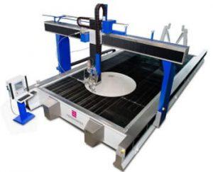 Anlagen zum 3D-Wasserstrahlschneiden