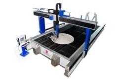 Maschinen und Anlagen zum Wasserstrahlschneiden