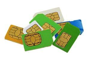 Herstellung von Mikro-Chipkarten durch Wasserstrahlschneiden