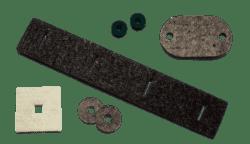 Reinwasserschneiden von weichen Stoffen wie Textilien