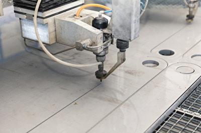 CNC-gesteuerte Schneidköpfe zum Wasserstrahlschneiden